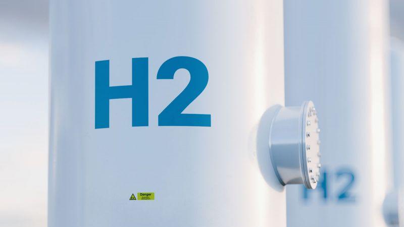 Symbolbild Wasserstoff: Wasserstofftanks