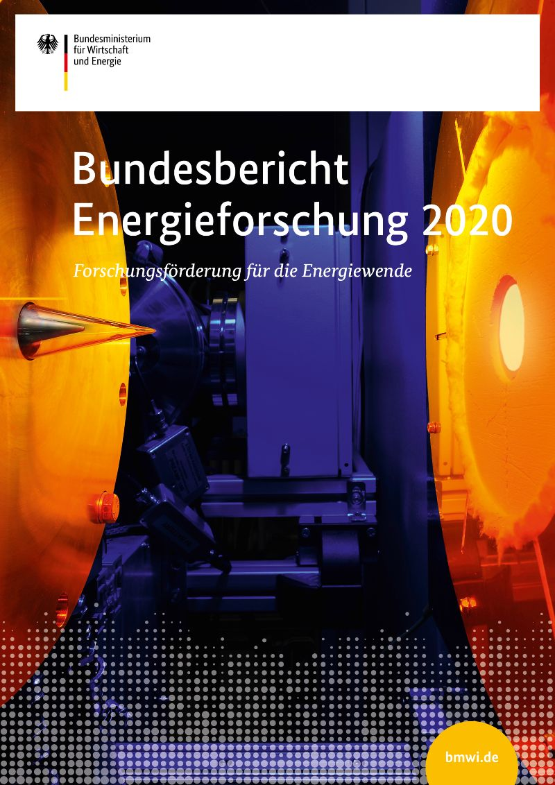 Bundesbericht Energieforschung 2020 zum Download