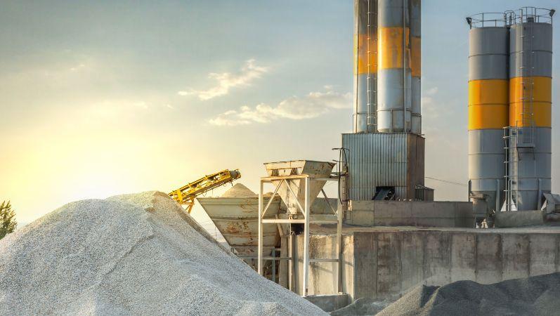 CO2-Kreislaufwirtschaft:Zementanlage