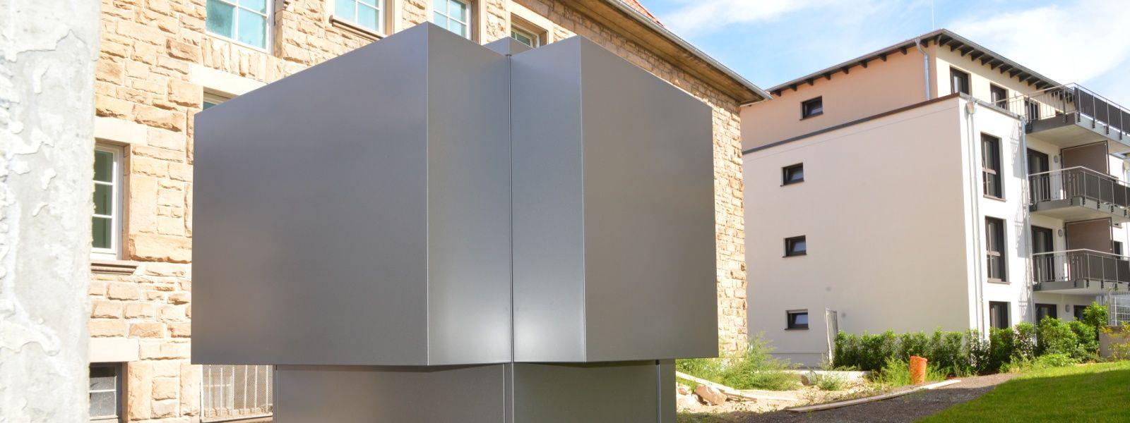 Energieeffiziente Wärme: Wärmepumpe in einem Quartier