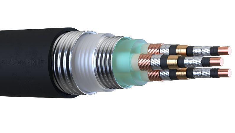 Querschnitt vom HTSL-Kabel im Forschungsprojekt SuperLink