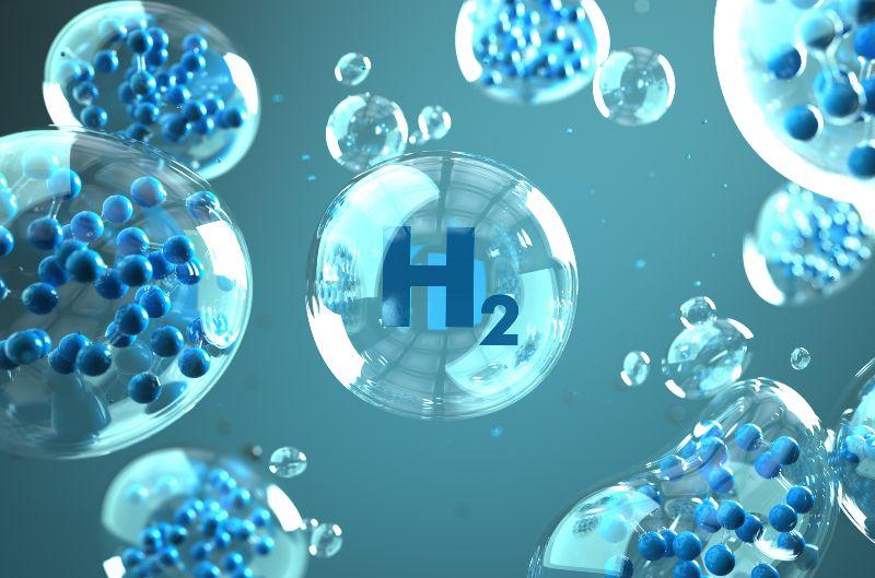 Blaue Wasserstoffmoleküle