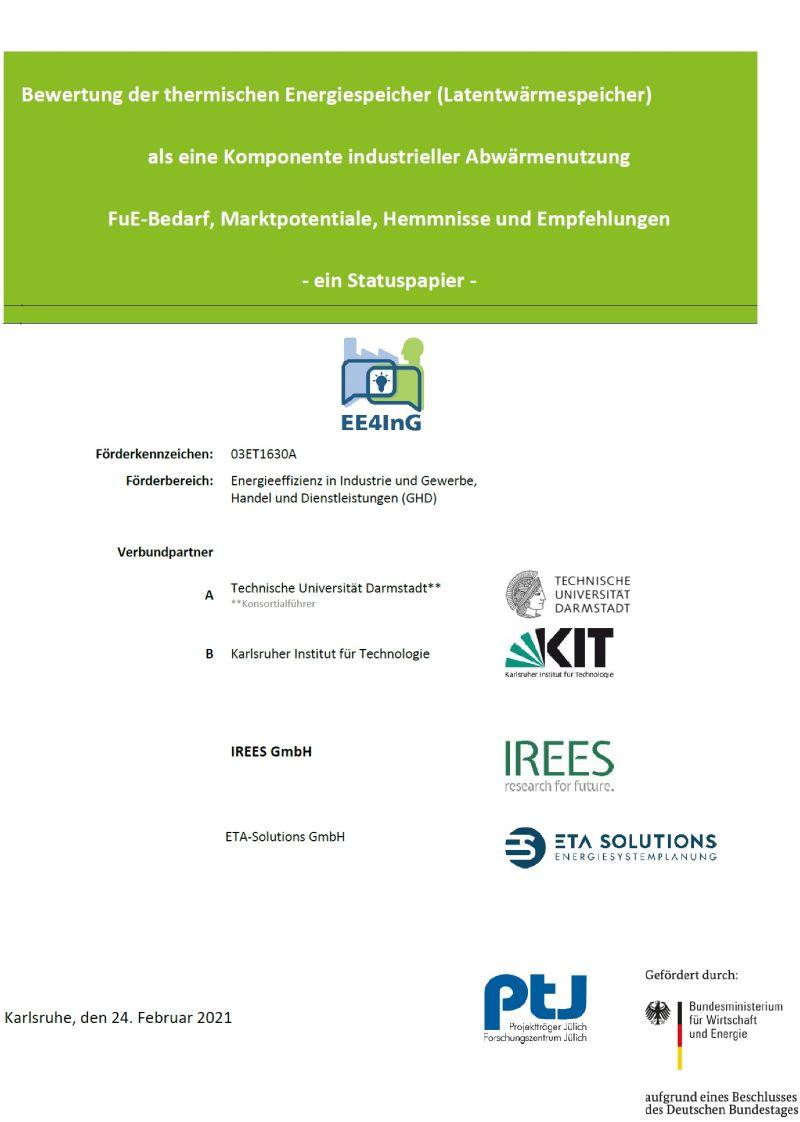 Titelblatt der Studie