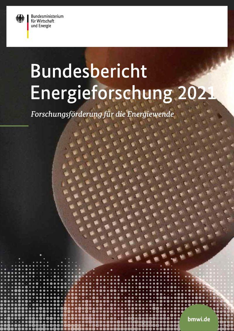 Titelbild Bundesbericht Energieforschung 2021