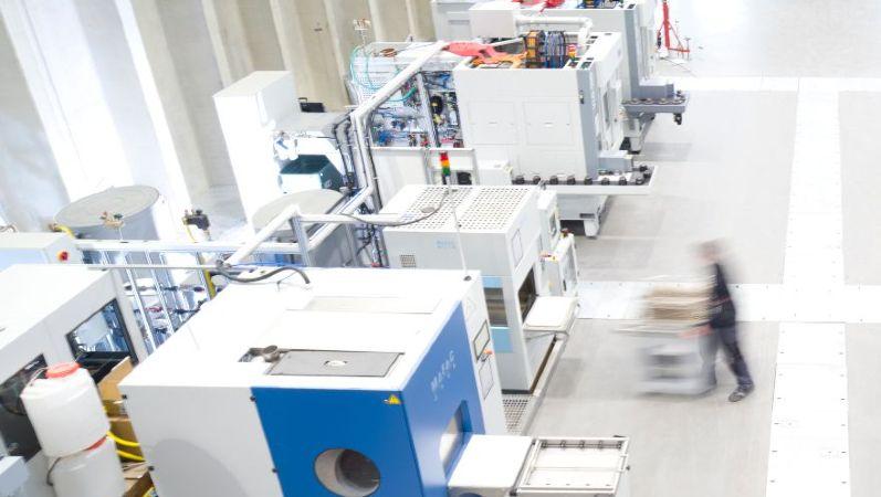 Blick in die Phi-Factory der ETA-Fabrik