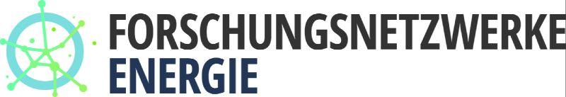 Logo der BMWi Forschungsnetzwerke Energie