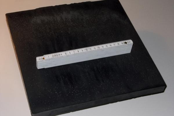 Aerogel-Platte aus Carbon